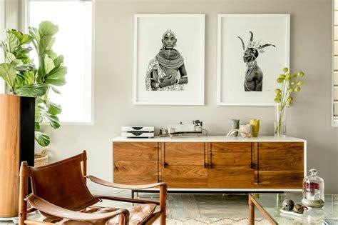 decoracion salon moderno  disenos en blanco  madera