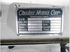 1982 Checker Marathon Deluxe Sedan 4Door 50L for sale