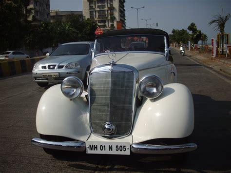 'classic Vintage Mercedes Benz' At 'mumbai Vintage