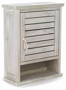 meuble haut salle de bain 1 porte With meuble haut salle de bain bois