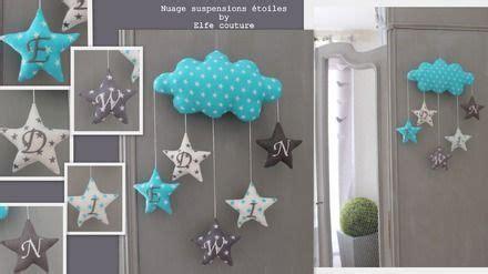 couture deco chambre bebe decoration chambre bebe nuage visuel 8