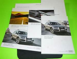2014 Audi Q5  Sq5 Owners Manual Set With Cover Case And