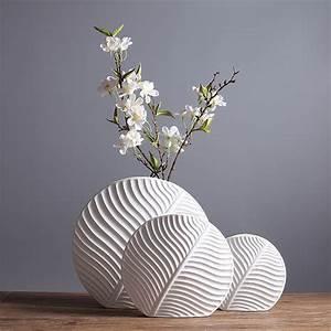 Leaf, Shape, Design, Ceramic, Flower, Vase, Modern, Noric, Fashion, Room, Flower, Vase, Decor, Handicraft