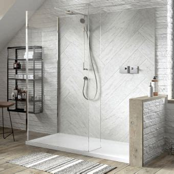Step In Shower Enclosures by Matki Boutique Walk In Recess Walk In Shower Enclosure