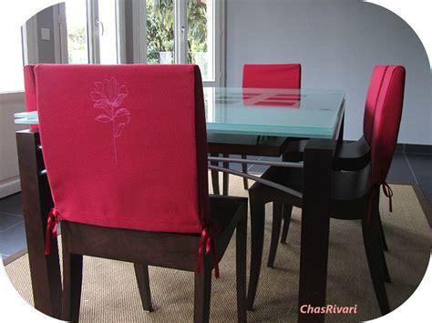 comment faire une housse de chaise housse pour chaise de salle a manger