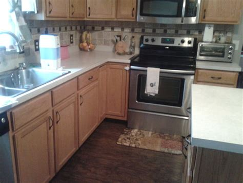 what color wood floor goes with oak cabinets kitchen would dark would cabinets be too much with dark
