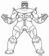 Thanos Coloring Pages Avenger Marvel Avengers Printable Returns Inked Lineart Ausmalbilder Sheets Warlock Adam Fans Print Comic Detailed Deviantart Dc sketch template