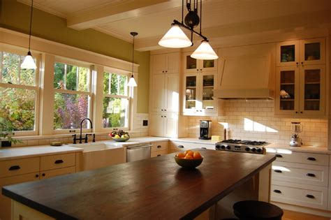 arts and crafts style kitchen cabinets arts and crafts kitchen craftsman kitchen portland 9043