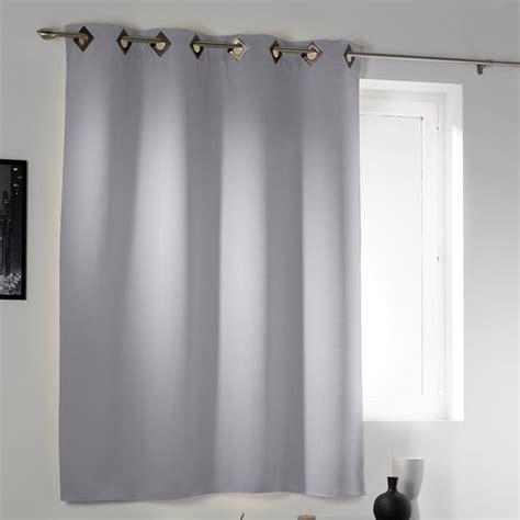 rideau occultant gris clair rideau œillets occultant court gris clair d 233 cor discount