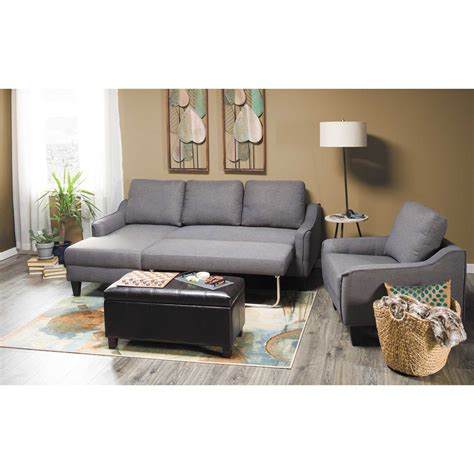 Gray Sleeper Sofa by Jarreau Gray Sofa Sleeper 1150271 Furniture Afw