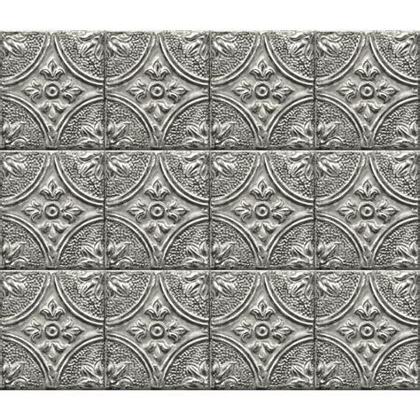 Peel And Stick Tile Decals by Brewster Silver Tin Tile Peel And Stick Backsplash Wall