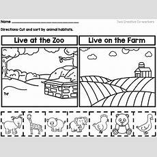Animal Habitats {printable Book, Sorting Worksheets, & Posters}  Science  Animal Worksheets