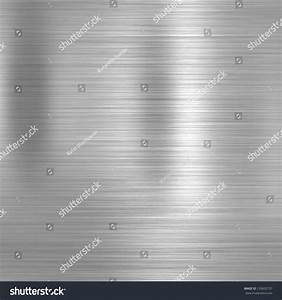 Metal Background Or Texture Of Brushed Steel Plate Stock ...