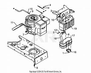 Mtd 13an697g352  1998  Parts Diagram For Muffler  Over