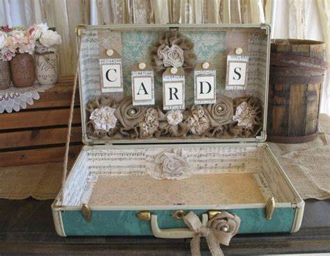 best 25 suitcase card box ideas on pinterest wedding