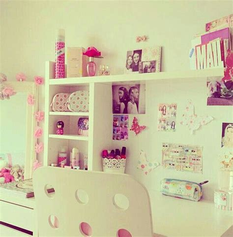 cute desks for bedrooms girly room super cute desk area redecorate