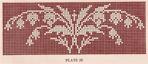 filet crochet sentimental baby vintage 1920s filet crochet and cross stitch patterns