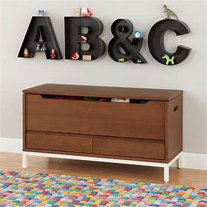 kids wall decor metal hanging wall letters the land of nod With marquee letter storage box