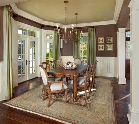 Southern Living Traditional Living Rooms by Living Southern Traditional Dining Room Charleston