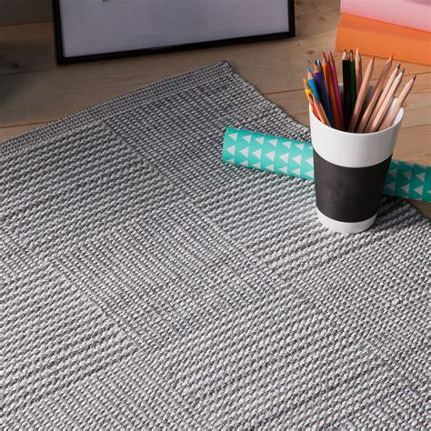 tapis coton tisse