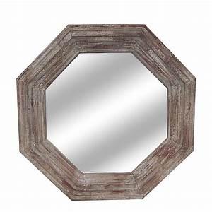 Octagonal Wall Mirror