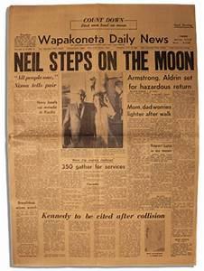 Lot Detail - Neil Armstrong's Hometown Newspaper ...