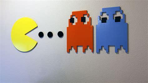 pac man wall art  geek pub