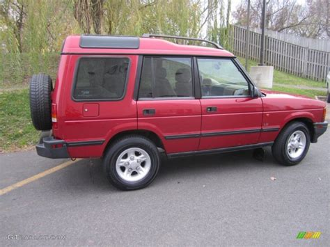 red land rover 1998 rutland red land rover discovery le 74039496