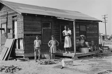 migrant farmers  california   great depression
