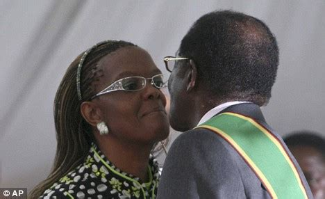 grace mugabe sexy picture exclusive the tyrant and his bride mugabe at his