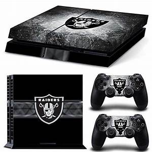 Decal Skin Sticker for PS4 - Oakland Raiders (Football ...