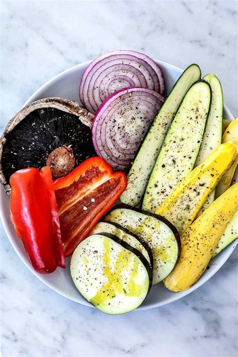easy grilled vegetables foodiecrush