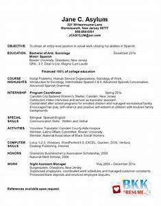 Sample Resume For New Graduate Resume Ideas