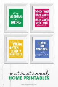 motivational quote printables  printable included