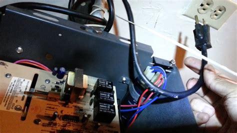 garage door opener faulty capacitor repair part  youtube