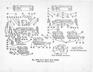 American Flyer Locomotive 3745  U0026 3778 Parts List  U0026 Diagram