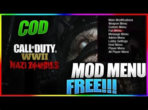 world war ii wwii mod menu  hacks mods doovi