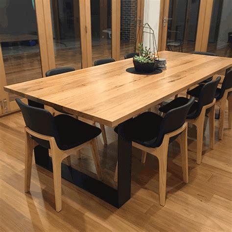 blackbutt monarch dining table lumber furniture