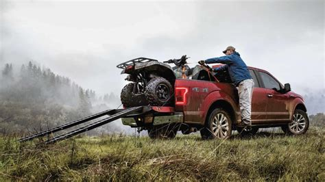2017 Ford F-150 Maximum Towing And Payload Capacities