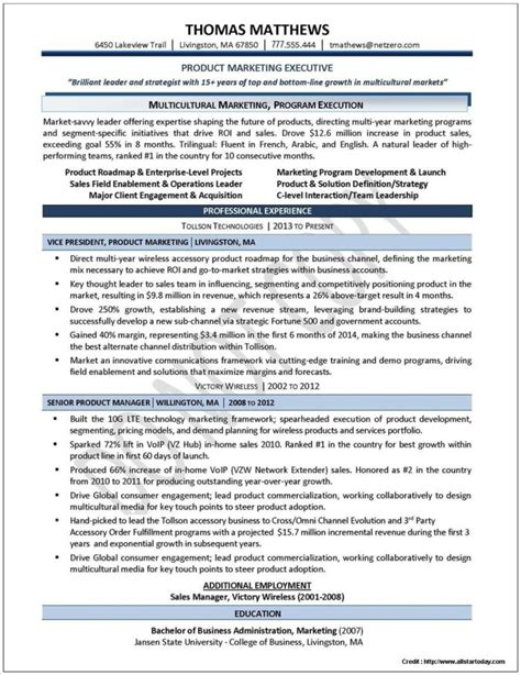 functional resume exles for executives resume