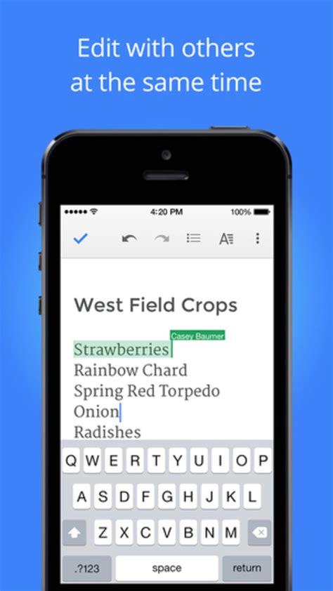 Google Docs for iPhone - Download