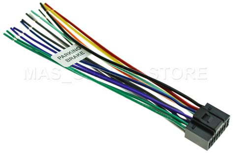 wire harness for jvc kw avx710 kwavx710 pay today ships