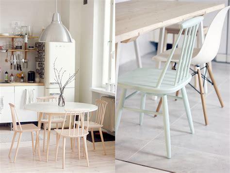 chaise danoise les chaises j110 et j77 de hay joli place