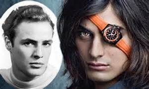 Marlon Brando's model grandson Tuki displays rebel legacy ...