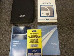2002 Ford Expedition Owner Manual User Guide Set Xlt Eddie