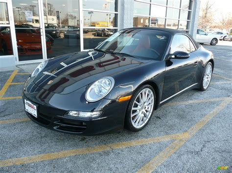 2006 Basalt Black Metallic Porsche 911 Carrera S Cabriolet