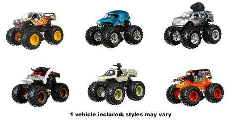 monster jam trucks list wheels assorted monster jam trucks walmart canada