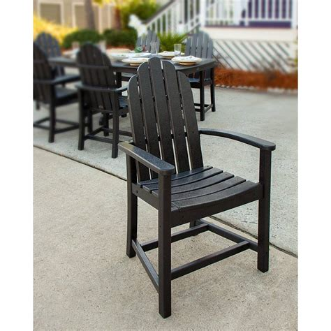 adirondack all weather outdoor dining chairs recycled