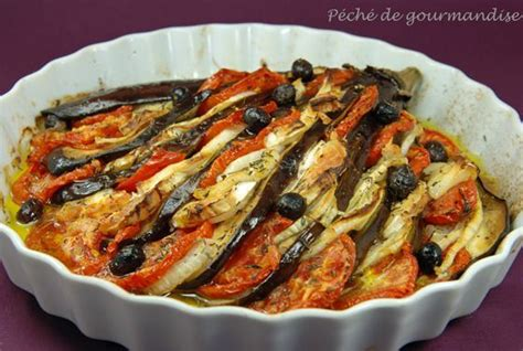 cuisiner aubergine four aubergines en éventail au sainte maure péché de gourmandise