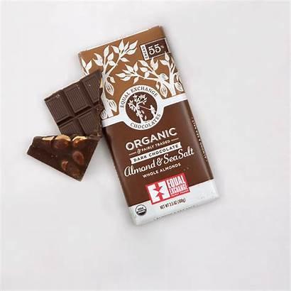 Chocolate Salt Sea Almond Dark Organic Bar